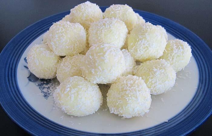 Конфеты с кокосовой стружкой своими руками 74